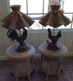 Set of Chicken Lamps