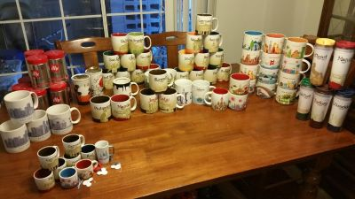 HUGE Starbucks Mug Lot (64)