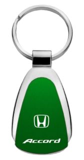 Purchase Honda Accord Green Teardrop Keychain / Key fob Engraved in USA Genuine motorcycle in San Tan Valley, Arizona, US, for US $14.61