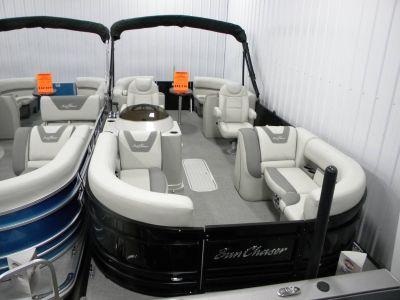 2019 SunChaser Geneva Cruise 22 LR DH Sport Pontoon Boats Kaukauna, WI