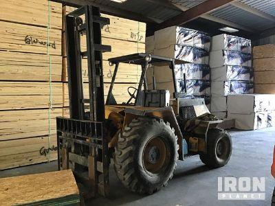 Sellick SD-80 Rough Terrain Forklift