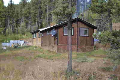 3722 Good Creek Road Whitefish One BR, This cabin on 3 acres up