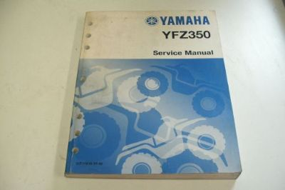 Buy YAMAHA ATV DEALER TECHNICAL SERVICE MANUAL YFZ350 motorcycle in Sunbury, Pennsylvania, United States, for US $49.95