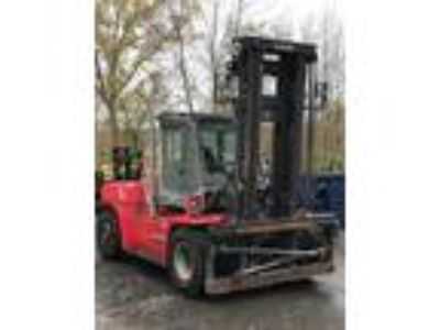 2014 Diesel Kalmar DCE160-9 Pneumatic Tire 4 Wheel Sit Down