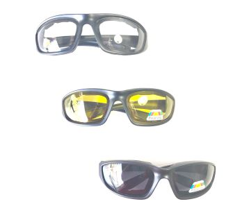 GearCanyon Protective Moto Glasses for Motorcycles, Dirt Bikes, ATVs - 3-Pack
