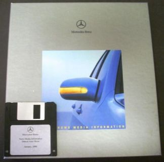 Sell NOS 2000 Mercedes-Benz Press Kit C E S CL CLK SLK SL M Class Rare! motorcycle in Holts Summit, Missouri, United States, for US $49.95