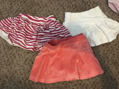 12-18 month skirts