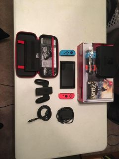 Switch with case