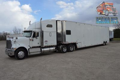 2002 INTERNATIONAL SEMI TRUCK with 2000 53 COMPETITIO