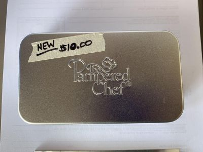 Brand new pampered chef cutters