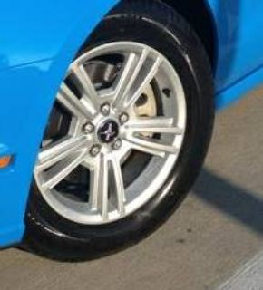 17 2014 Ford Mustang stock rims  tires (4)