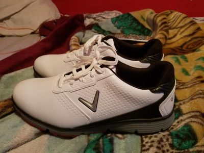 Brand new Callaway 10 to 1/2 golf shoes