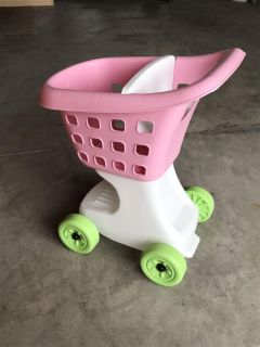 Push toy - grocery cart
