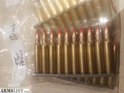 For Trade: 5.56 55gr Tracer Rounds