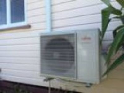 Heating and cooling air conditioning