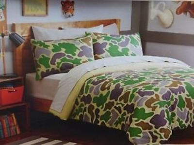 Camo Full-size 7-piece Bed in a Bag with Sheet Set