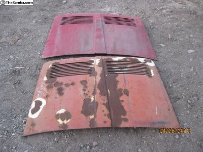 Type 34 Karmann Ghia Decklid/Engine Lid