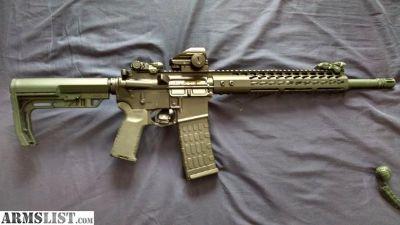 For Sale: Custom AR 15 $750 223 Wylde 1/8 twist