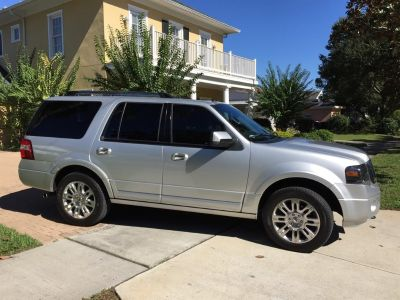 2012 Ford Expedition Limited (Silver)