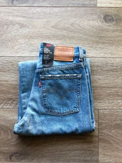 Levi s High Water Wide Leg Jeans
