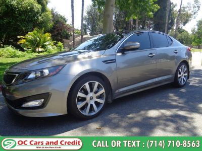 2012 Kia Optima SX Turbo (Grey)