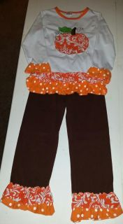 Boutique outfit size 7-8. Worn once. Pick up in Deer Island.
