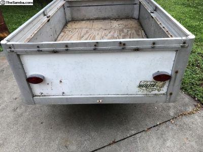 60s vintage aluminum trailer campers