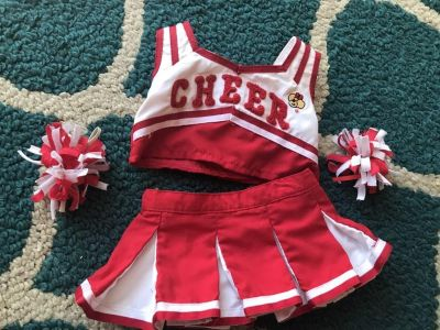 Build a Bear Cheer outfit