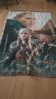 Lord Of The Rings Throw