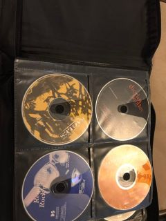 70 CDs in Large CD Case