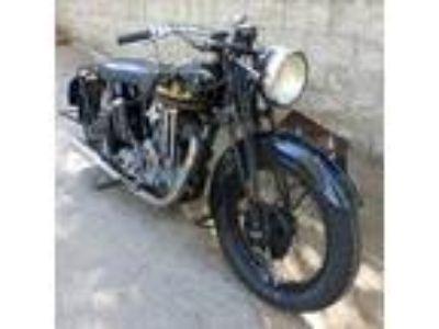 1936 SUNBEAM MOTORCYCLE MODEL 9 500cc