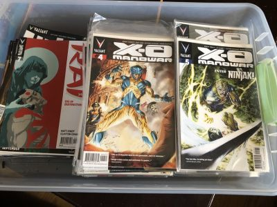 Valiant comics/bloodshot/spirit/Rai....