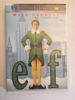 Elf Will Farrell! DVD light scratches but tested and it works great!