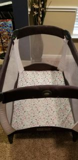 Pack n play never used! Has infant bed too.