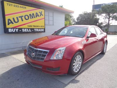 2010 Cadillac CTS 3.0L V6 Luxury (Red)