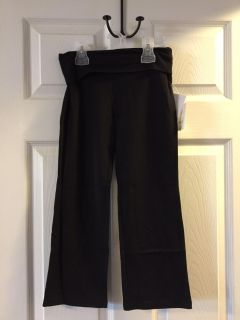 New with tags - danskin black yoga pants - size 6-6x