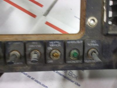 Find 830 Wia volvo dash panel with clash air brakes, toggle, switches, wiper controls motorcycle in Batesville, Arkansas, US, for US $50.00