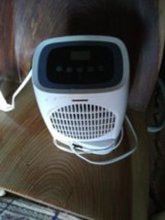 electric heater with the remote