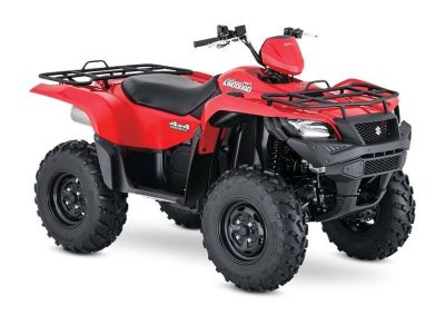 2017 Suzuki KingQuad 500AXi Power Steering Utility ATVs Stillwater, OK