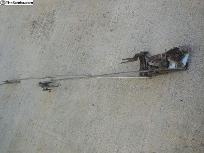 Porsche 911 / 912 Early Door Lock Opening Mechanis