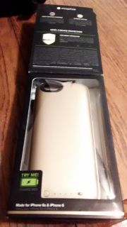 iPhone 6/6S Morphie juice pack air!! 100%more battery pack and Protective Case Gold
