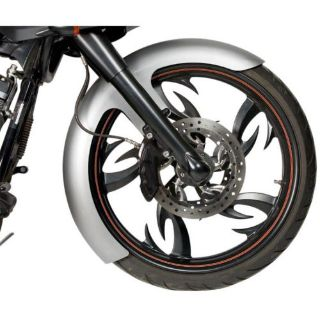 "Find 23"" SMOOTH FRONT FENDER 6"" WIDE w/SPACERS 94-13 HARLEY FLHR FLHX FLTR-RWD-50131 motorcycle in Sorrento, Florida, United States, for US $274.95"