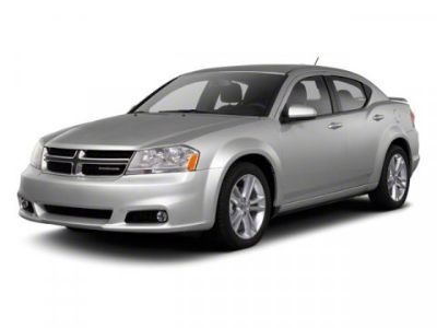 2012 Dodge Avenger SXT Plus (Blue Streak Pearl)