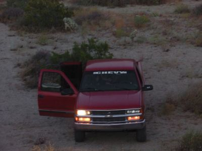 1997 CHEVY SILVERADO 4X4 NICE INSIDE AND OUT