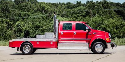 FORD F650 CUMMINS CUSTOM HAULER