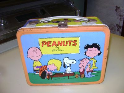 Snoopy Metal Lunch Box