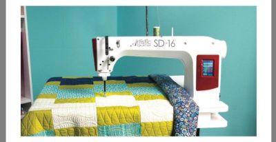 JANOME ARTISTIC SD-16 QUILTING MACHINE