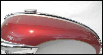Purchase TRIUMPH 650 SLIMLINE BONNEVILLE FUEL PETROL GAS TANK TOP CHROME TRIM PN# 83-0031 motorcycle in Denver, Colorado, US, for US $56.95