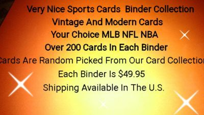 Sports Cards Binder