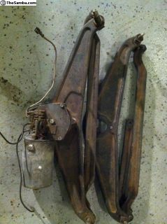Wiper Assembly And Motor With Extras